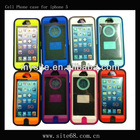 Celular Phone Combo Skin Case for Apple iphone 5g