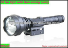 t6 led flashlight with gun aiming clamp