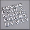 electroplated abs letter