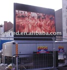 Advertising outdoor full color electronic display