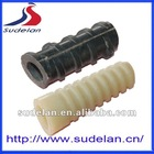 Various types of plastic rail fastener