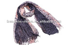 Colorful Ladies' Panther print Neck Scarf