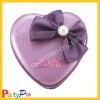 romantic purple high quality wedding candy box
