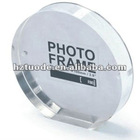 Round decorative Acrylic Photo Frame