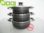 Pressed Aluminum NonStick Sauce Pot