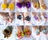 24 Colors New Baby Flower Barefoot Tie Baby Sandals Baby Socks