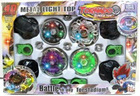 hot sell metal and plastic Spinning Top Beyblade mini toy with light