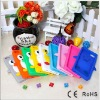 colourful perfect design factory oem design penguin case for iphone 5 5G