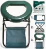 Camping Stool / Portable Toilet Combo