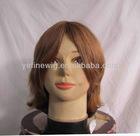 Full brazilian hair natural hair wig for men