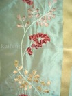 taffeta with satin embroidery silk fabric-153