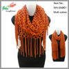 fashion sofy acrylic knitted scarf and snood