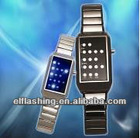 led white &black watch