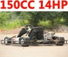 150cc 14HP Racing go kart