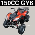 Electrical start quad bike GY6 engine shukeda atv made in China