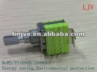 12mm rotary multiway push switch