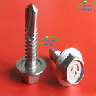 DIN Standard Hex Head Self Driling Screw with EPDM Washer High quality and best price