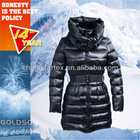 2013 WINTER NEW STYLISH DUOBLE COLLAR WOMEN LONG DUCK DOWN COATS