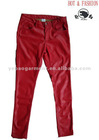 2012 Ladies fashion new design PU leather pants