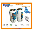3V Li/MnO2 CR123A battery built-in PTC
