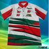 sublimated racing team polo shirt
