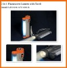 2 in 1 Fluorescent Lantern with Torch
