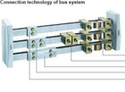 Connection technology of bus bar system