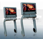 7 inch central armrest TFT LCD monitor with DVD player