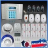 40Zones LCD Display PSTN Landline& GSM Dual Network Wireless Home House Security Burglar Intruder Alert Alarm System iHome328MG8