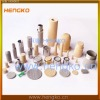 Sintered copper porous filters