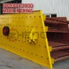 Durable vibrating screen with high efficency