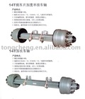 14 T Semi Trailer Axle