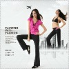 lady's new fashion casual sportswear yoga bra sets long black pants PTT mix sizes long sets nice quality