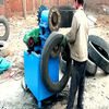 wast truck car tires shredding plant from rubber tires