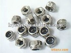 stainless steel hex nylon nuts