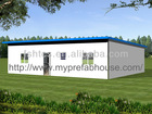 prefabricated mobile homes with sandwich panel as cobering materials
