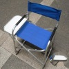 Aluminum tube director chair with tray