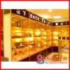Durable Titanium alloy Glass Showcase