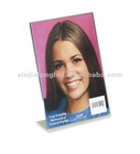 Elegant Acrylic Picture Frame with L-Shaped
