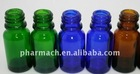 Cobalt blue glass dropper bottle medicine