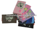 promotion three folds nylon wallet purse card holder