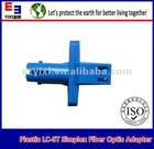 Plastic LC-ST simplex SM Fiber Optic Adapter