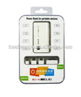 2600mAh Universal Portable Power Bank for iPhone, Power Bank for Smartphone,