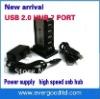 NEW HUB 7-port USB extender power splitters 7 Port USB 2.0 Hub - Support 480 Mps High speed USB Free AC Adapter