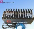Hot sale 16 ports wavecom gprs modem with serial port at command sms q2687 modem