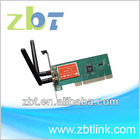 IEEE802.11b/g/n 300mbps wifi desktop PCI adapter