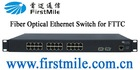Managed Fiber Optical Ethernet Switch for Fiber-To-The-Curb,Fiber communication