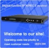 Digital Satellite IP MPEG 2 receiver