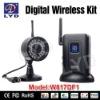 2.4Ghz Alarm-alert Waterproof Night Vision Wireless Mini Hd Digital Video Camera