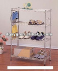 Multi-layed metal wire Shoe rack for household or supermarkets
